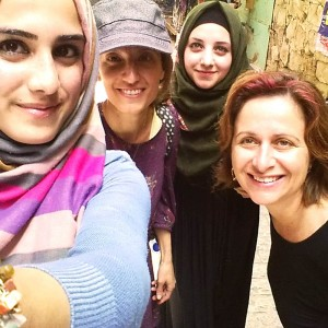 This week my good friend Marianna and I went on a trip to Hebron.<br />