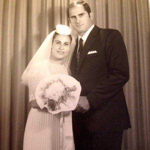 My parents on their wedding day.