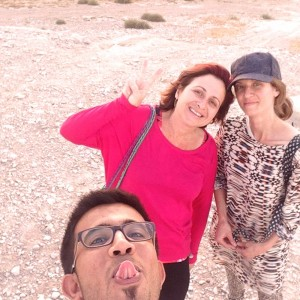 Ein Fara With Khatib and Lucy