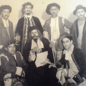 The Merchant of Venice at Al Faisal Theater, Baghad in the 1950s.