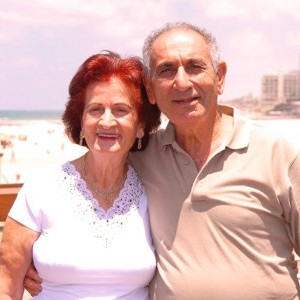 My parents my LOVE! Richard & Marjory Chitayat at their 80s. TelAviv.